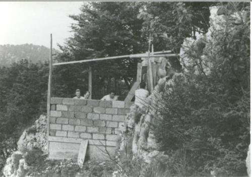 Baita-Costruzione-Estate1968